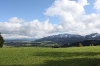 Blick auf die Zugspitze (und umliegende Bergchen)